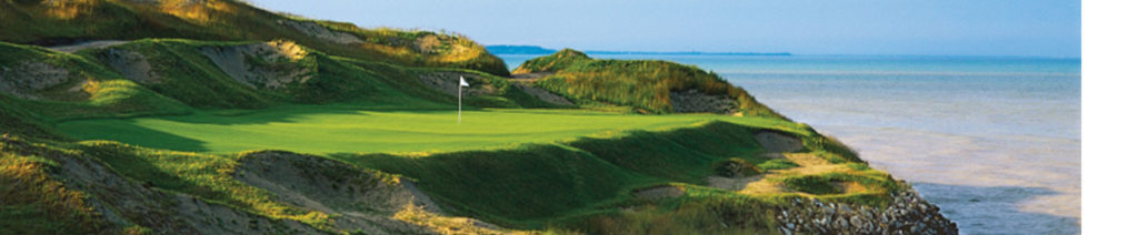 Whistling Straits is one of the most challenging championship golf courses